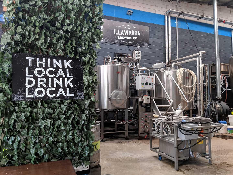 llawarra Brewing Co brews the popular Chuck Norris American Red Ale.