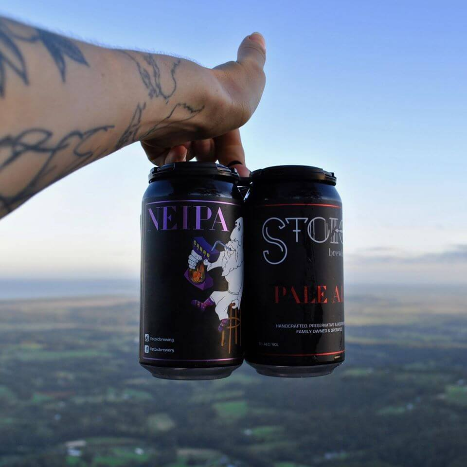 Stoic Brewing was founded by a father and son team in Gerringong.