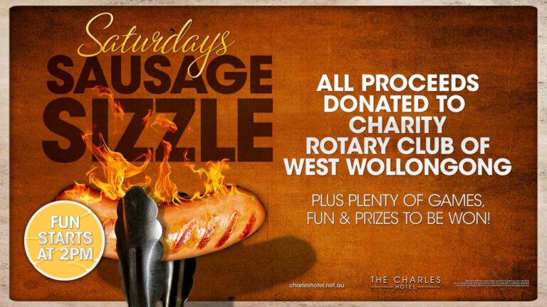the fold illawarra charity sausage bbq at the charles hotel 768x432