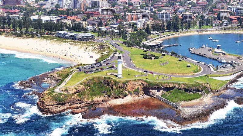 Wollongong in the Illawarra region is the third largest city in NSW.