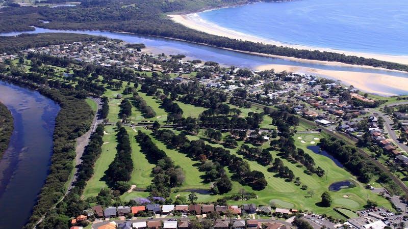 Kiama is on the coast in the Illawarra region of NSW.