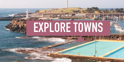 Explore the towns on the Illawarra