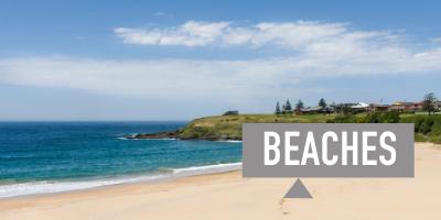 Explore the beaches of the Illawarra