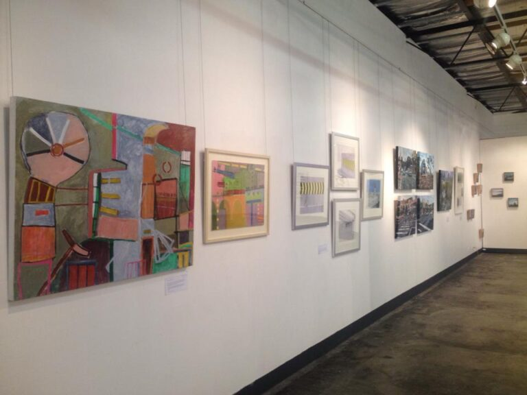 the fold illawarra project contemporary artspace paintings on the wall 768x576