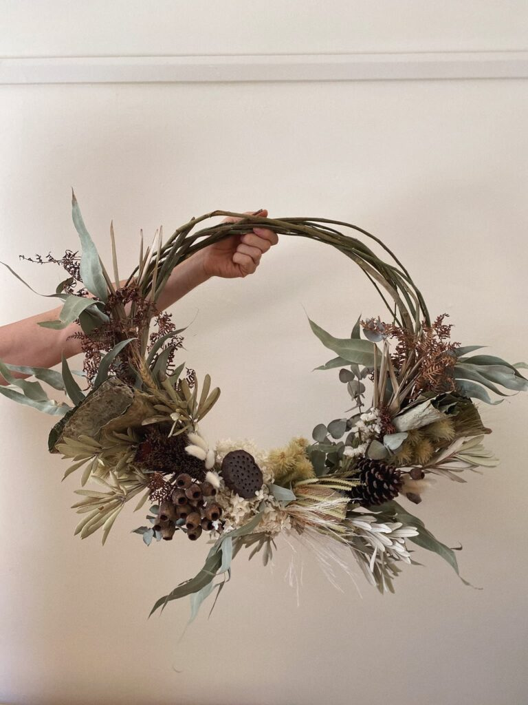the fold illawarra everlasting wreath workshop 768x1024
