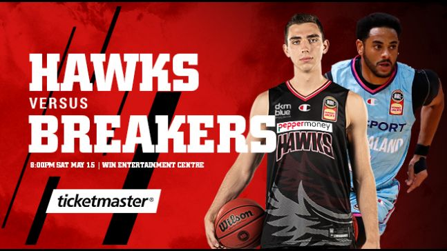 the fold illawarra illawarra hawks vs new zealand breakers