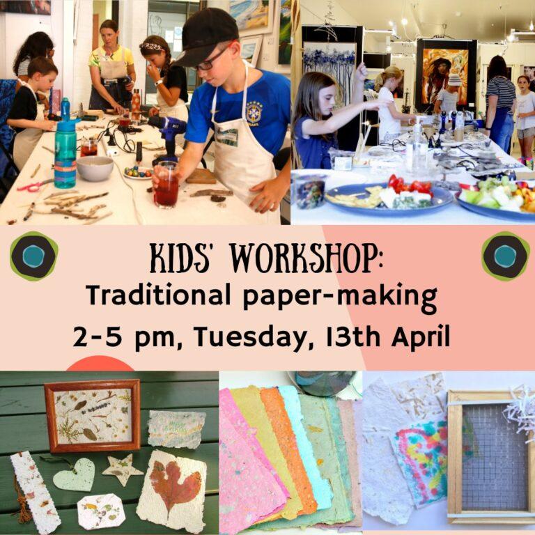 the fold illawarra kids workshop paper making 768x768