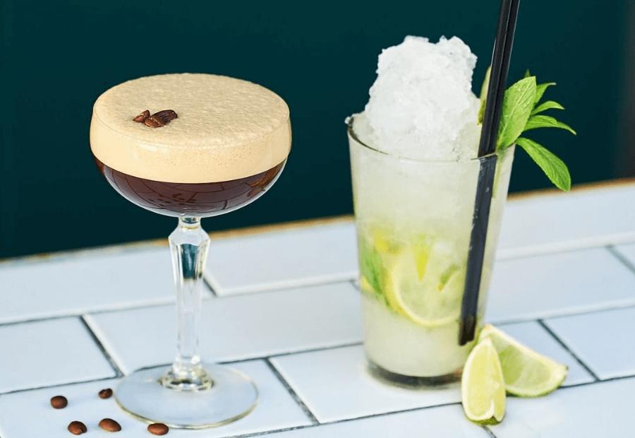 Cocktails at Humber Bar Wollongong