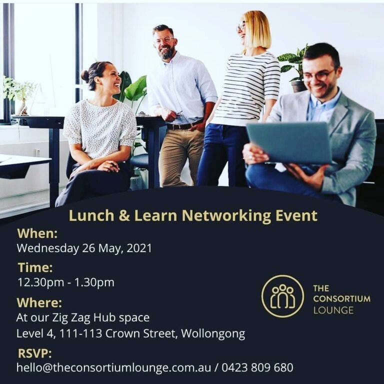 the fold illawarra lunch learn networking event 768x768