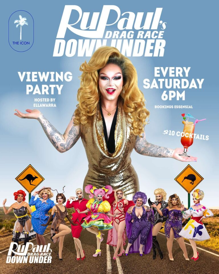 the fold illawarra rupauls drag race down under viewing party 768x960