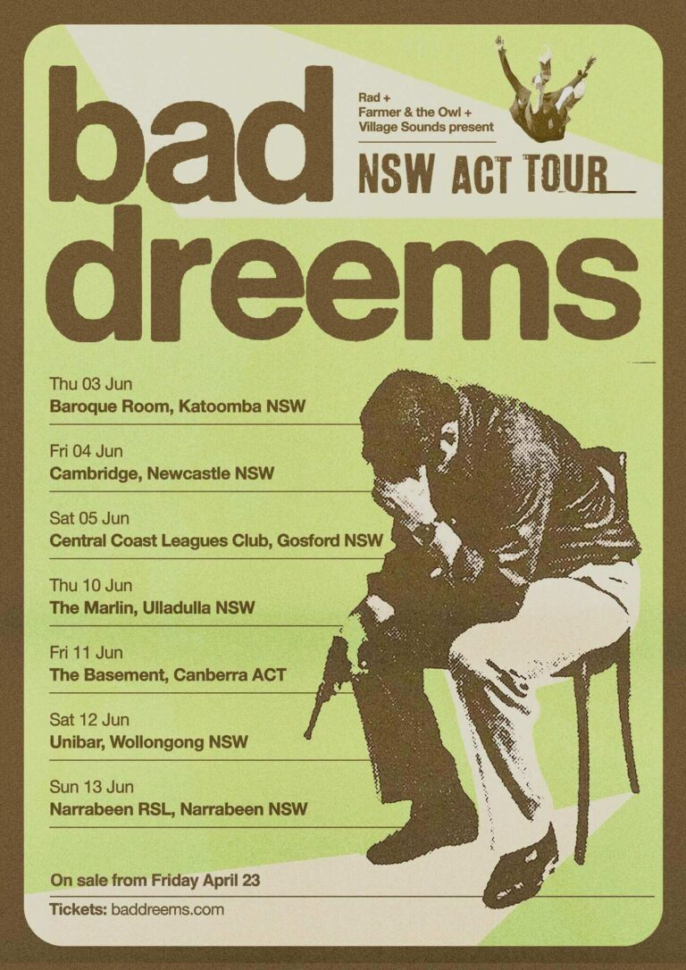 the fold illawarra bad dreems with special guests 768x1086