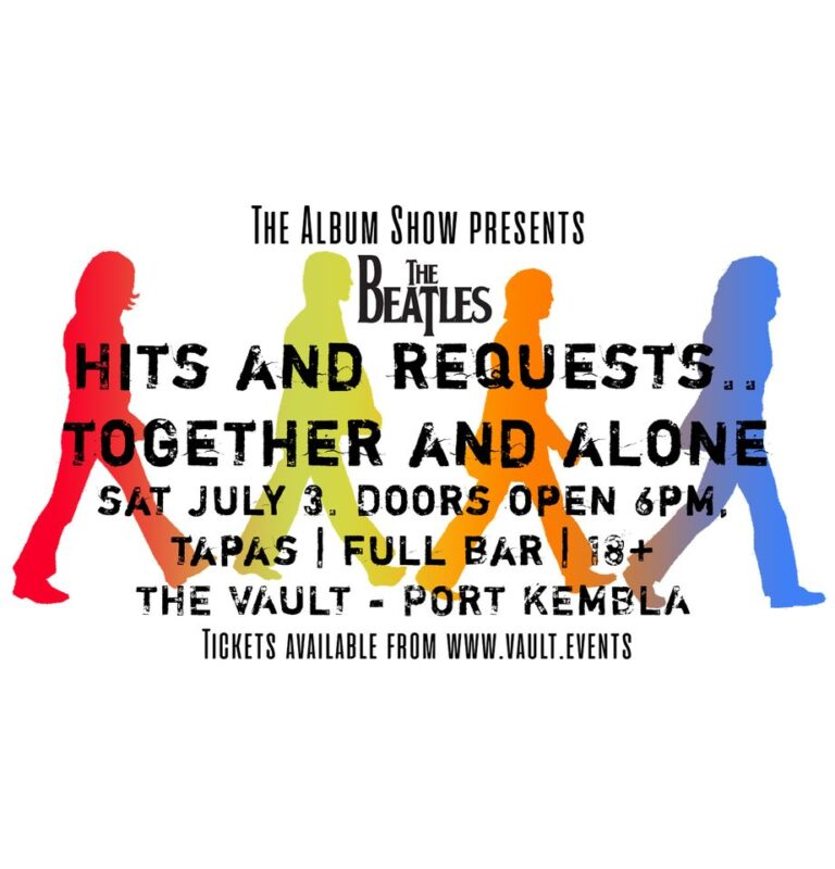 the fold illawarra the beatles hits and requests together and alone 768x800