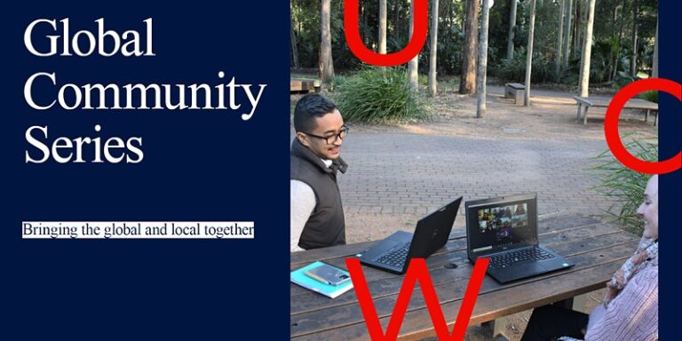 the fold illawarra global community series language exchange session on campus 768x384