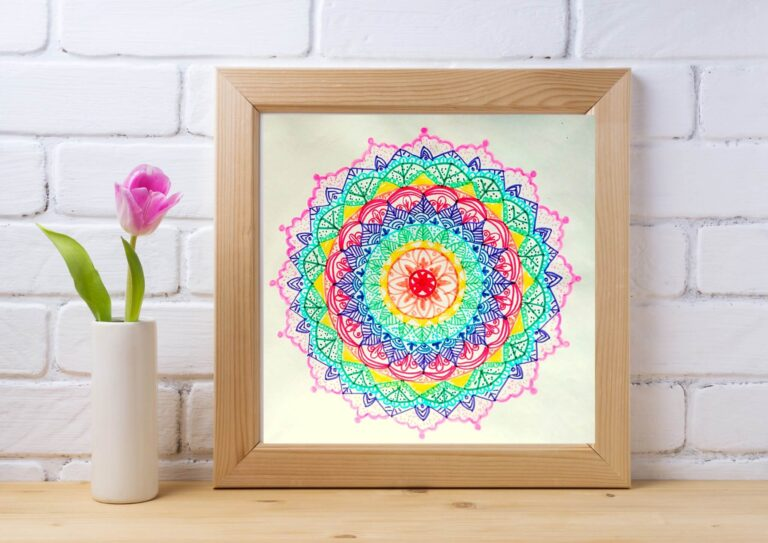 the fold illawarra art at home mandala drawing for beginners 768x543